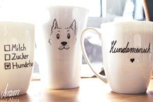 Tasse bemalen DIY_Hund_Hunde_Hundeblog_Aram und Abra