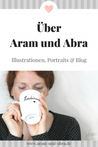 Über uns: Illustration_Kunst | Hundeblog | Aram und Abra