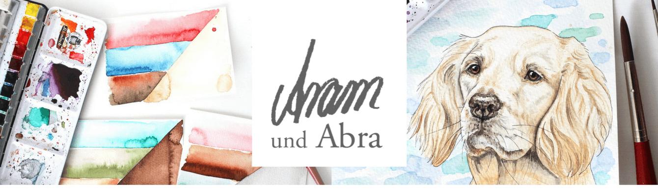 Aram und Abra - (Hunde-) Illustrationen und Portraits