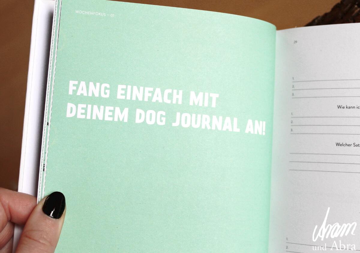 Dog Journal - Dankbarkeit mit Hund - Aram und Abra