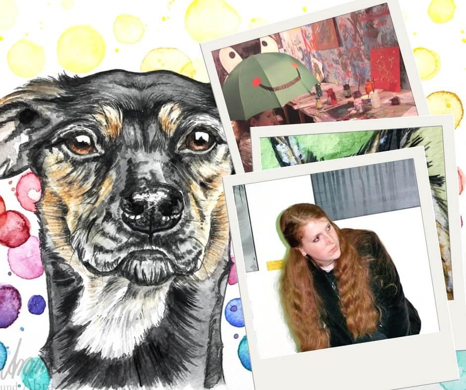 Kunst und Hund als Berufung_Aram und Abra